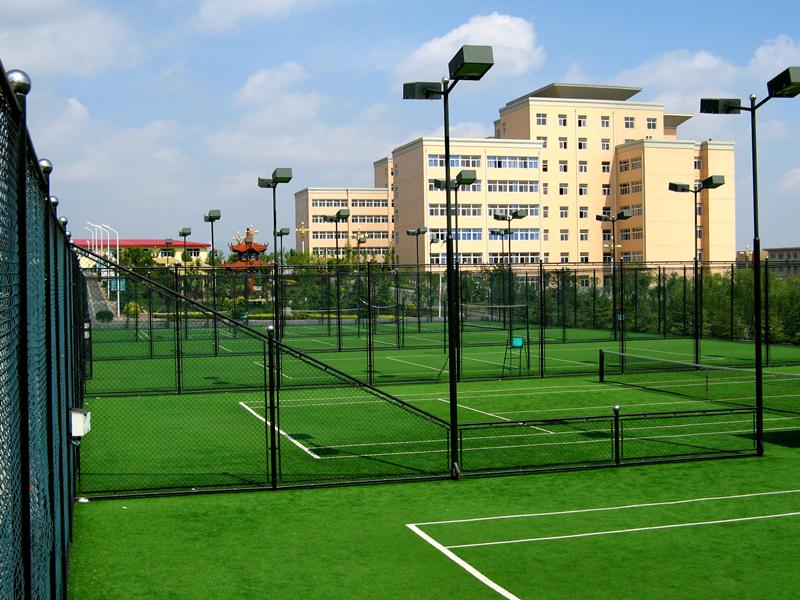 网球场围网工程案例